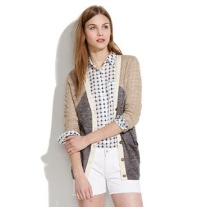 Madewell arrowpoint cardigan! Great condition!!